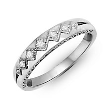 Perfect Fit Signature 9ct White Gold & Diamond Eternity Ring - Product number 2311682