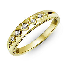 Perfect Fit Signature 9ct Yellow Gold Diamond Eternity Ring - Product number 2311968