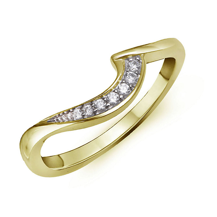 Perfect Fit 9ct Yellow Gold & Diamond Eternity Ring - Product number 2312220