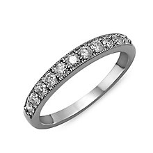 Perfect Fit 9ct White Gold & Diamond Eternity Ring - Product number 2312360