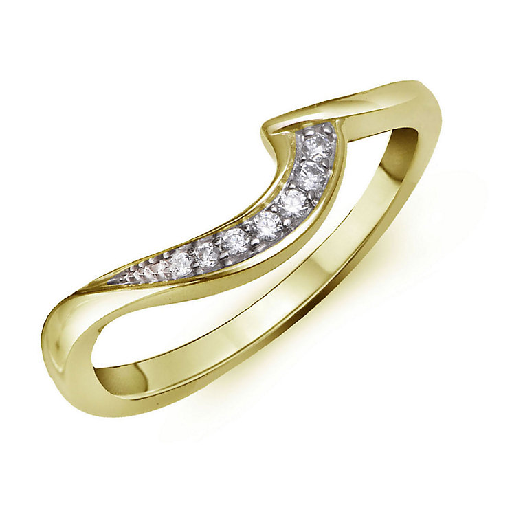 Perfect Fit 9ct Yellow Gold & Diamond Eternity Ring - Product number 2312492