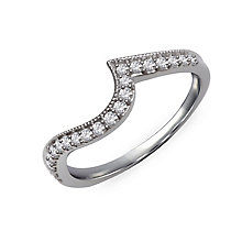 Perfect Fit 9ct White Gold & Diamond Eternity Ring - Product number 2313103