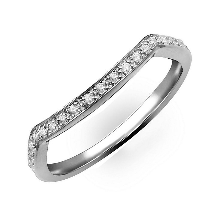 Perfect Fit 9ct White Gold & Diamond Eternity Ring - Product number 2313243