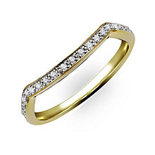 Perfect Fit 9ct Yellow Gold & Diamond Eternity Ring - Product number 2313391