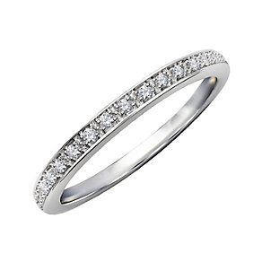 Perfect Fit 9ct White Gold & Diamond Eternity Ring - Product number 2313529