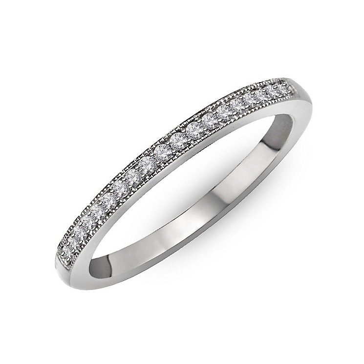 Perfect Fit 9ct White Gold & Diamond Eternity Ring - Product number 2313669