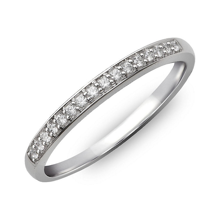 Perfect Fit 9ct White Gold & Diamond Eternity Ring - Product number 2313790