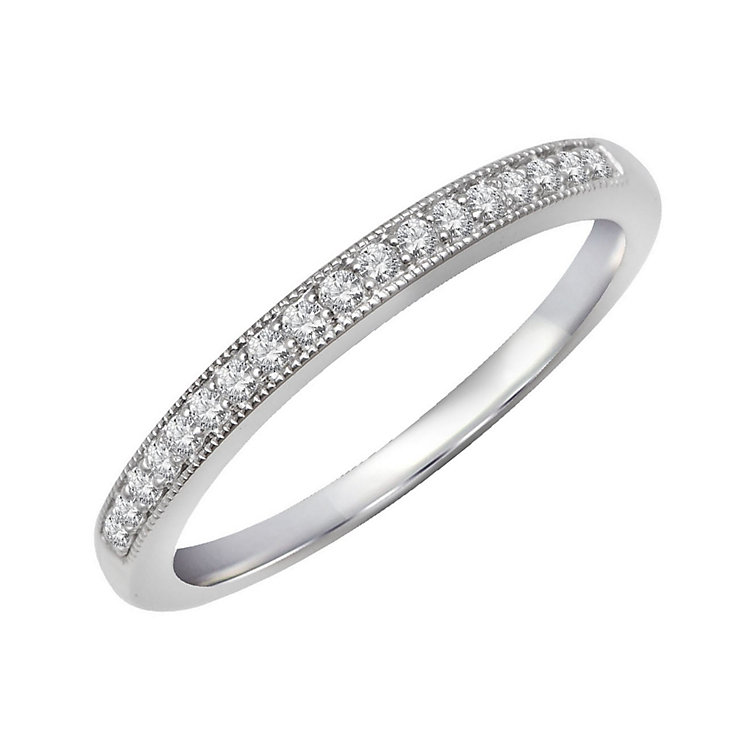 Perfect Fit 9ct White Gold & Diamond Eternity Ring - Product number 2314053