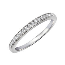 Perfect Fit 9ct White Gold & Diamond Eternity Ring - Product number 2314320