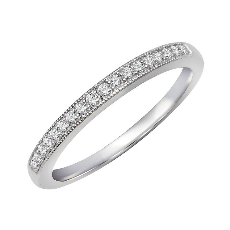 Perfect Fit 9ct White Gold & Diamond Eternity Ring - Product number 2314460