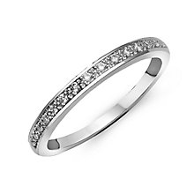 Perfect Fit 9ct White Gold & Diamond Eternity Ring - Product number 2314592