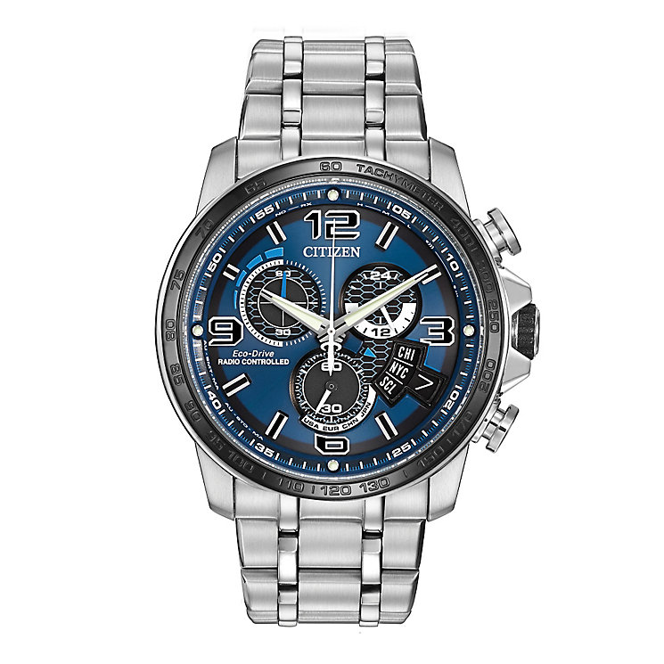 Citizen Eco-Drive men's stainless steel bracelet watch - Product number 2315262