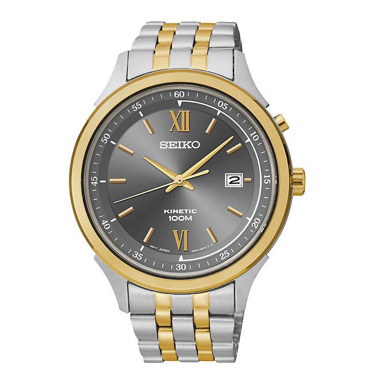 Seiko Men's Two Tone Kinetic Watch - Product number 2316803