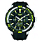 Pulsar Men's Chronograph Green & Black Silicone Watch - Product number 2317575