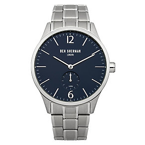 Ben Sherman Men's Spitalfields Professional Steel Watch - Product number 2317753