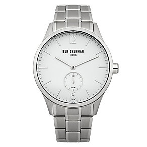 Ben Sherman Men's Spitalfields Professional White Watch - Product number 2317788