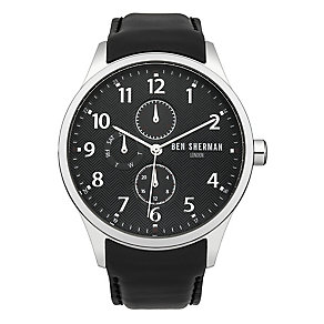 Ben Sherman Men's Spitalfields Multi-Function Black Watch - Product number 2317834