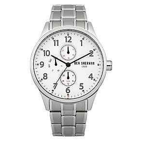 Ben Sherman Men's Spitalfields Multi-Function Steel Watch - Product number 2317850