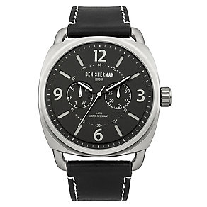 Ben Sherman Men's Covent Multi-Function Black Watch - Product number 2317877