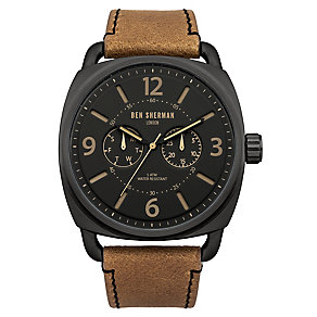 Ben Sherman Men's Covent Multi-Function Brown Watch - Product number 2317885