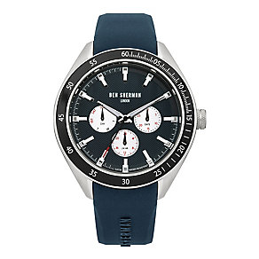 Ben Sherman Men's Islington Multifunction Blue Strap Watch - Product number 2317958