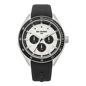 Ben Sherman Men's Islington Multifunction Black Strap Watch - Product number 2317966