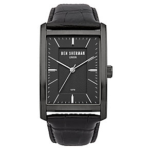 Ben Sherman Men's Clerkenwell Professional Black Strap Watch - Product number 2317974