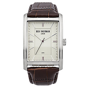 Ben Sherman Men's Clerkenwell Professional Brown Watch - Product number 2317990