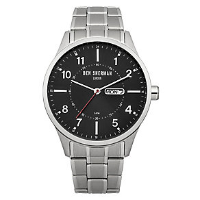 Ben Sherman Men's Spitalfields Day Date Steel Watch - Product number 2318008