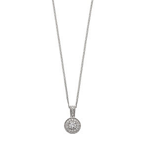 Tolkowsky 18ct white gold 0.25ct diamond pendant - Product number 2318369