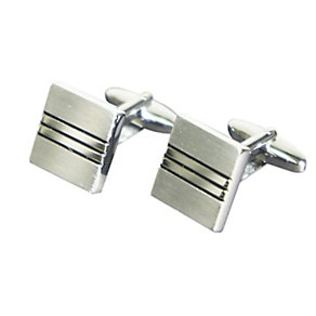 Square Line Detailed Cufflinks - Product number 2318385