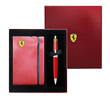 Ferrari Red 300 Ballpoint Pen & Journal Gift Set - Product number 2318466