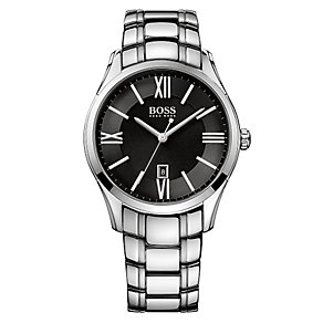 Hugo Boss men's stainless steel bracelet watch - Product number 2319004