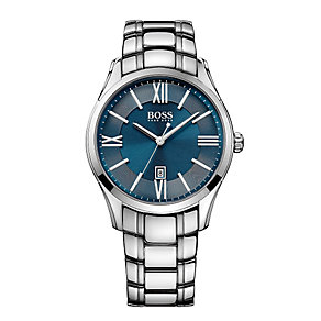 Hugo Boss men's stainless steel bracelet watch - Product number 2319195
