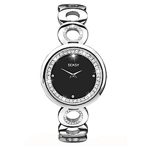 Sekonda Seksy Ladies' Stainless Steel Circle Design Watch - Product number 2320584