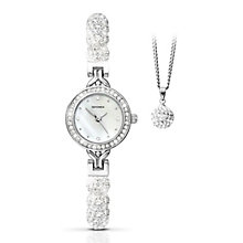 Sekonda Editions Ladies' Sparkle Watch & Pendant Set - Product number 2320614