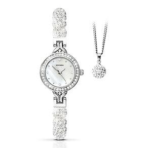 Sekonda Editions Ladies' Sparkle Watch & Pendant Set - Product number 2320614