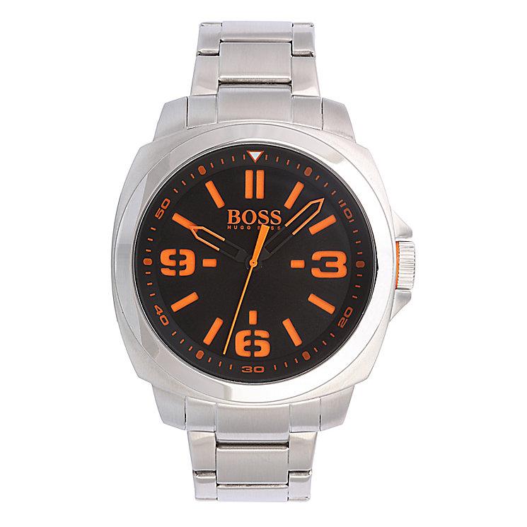 Boss Orange Men's Black Dial Stainless Steel Bracelet Watch - Product number 2320665