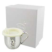 Disney Christening Silver Plated Pooh Bear Baby Cup - Product number 2320827