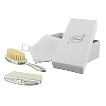Disney Christening Silver Plated Pooh Bear Brush & Comb Set - Product number 2320843