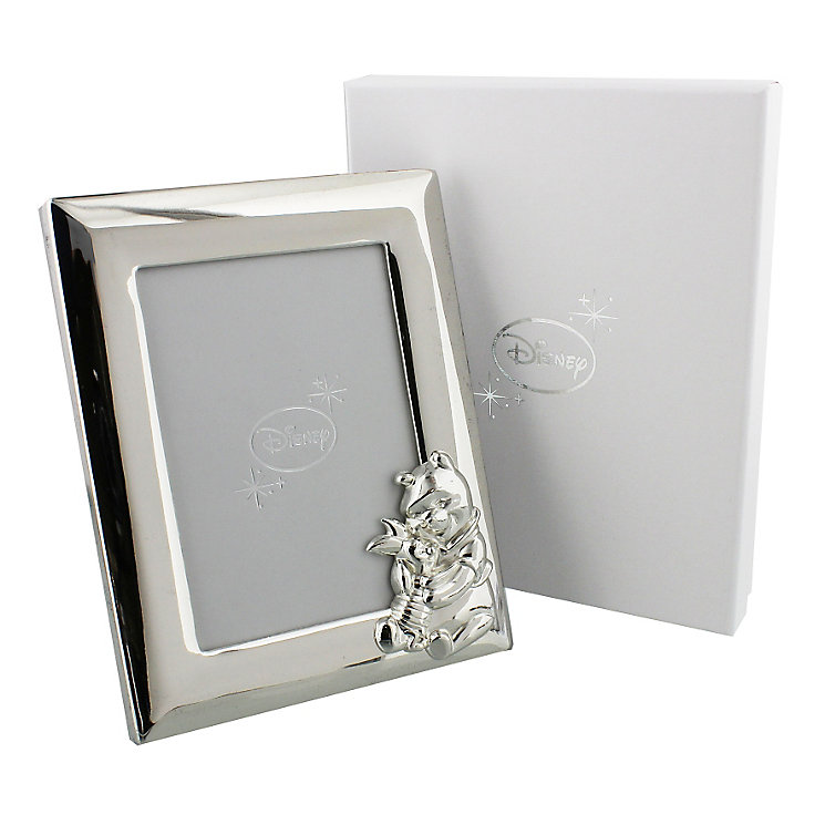 Disney Christening Silver Plated Pooh Bear Photo Frame - Product number 2320851