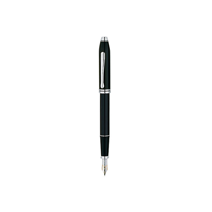 Cross Townsend black laquer & rhodium-plated fountain pen - Product number 2322188
