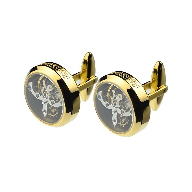 Jean Pierre skeleton gold-plated cufflinks - Product number 2322455