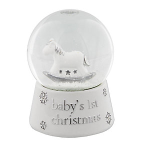 Childhood Memories Baby's 1st Christmas Snow Globe - Product number 2322633