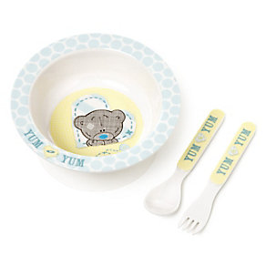 Tiny Tatty Teddy Bowl And Cutlery Set - Product number 2326078