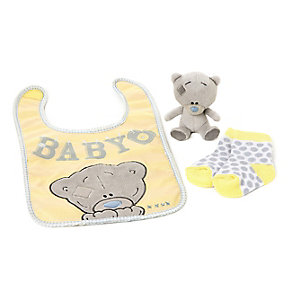 Tiny Tatty Teddy Bib, Plush and Socks Set - Product number 2326086