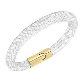 Swarovski Stardust bracelet grey crystal size S - Product number 2326191