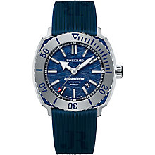 JEANRICHARD men's blue rubber strap watch - Product number 2326728