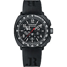 JEANRICHARD men's black rubber strap watch - Product number 2326736
