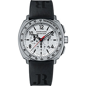 JEANRICHARD men's black rubber strap watch - Product number 2326744